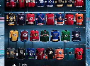 ADIDAS NHL JERSEYS REVEALED!