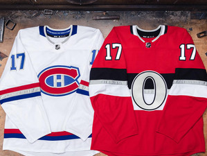 Senators, Canadiens NHL100 Classic Logos, Jerseys Revealed