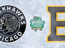 Bruins & Blackhawks 2019 Winter Classic Logos Revealed
