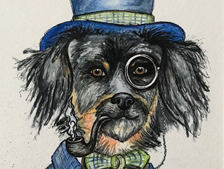Pet Portrait • Custom Art