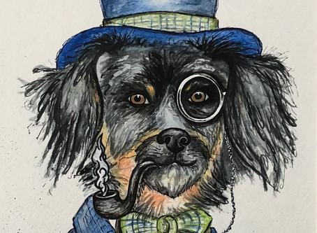 Pet Portrait • Custom Art