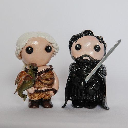Jon Snow & Daenerys