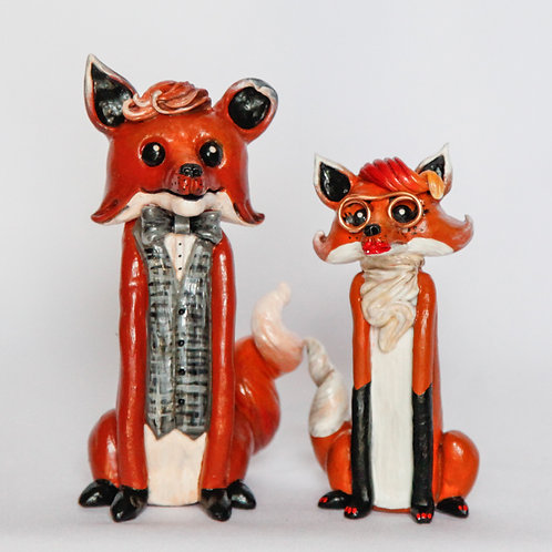 Mr. & Mrs. Fox