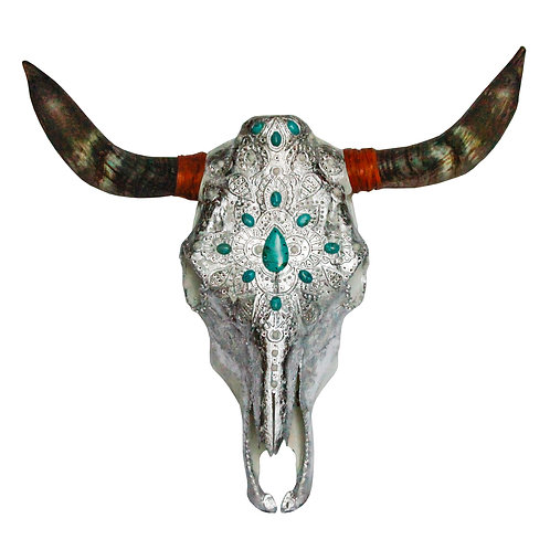 Cow Skull - Turquoise