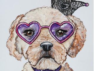 Pet Portraits • Phoenix Artist