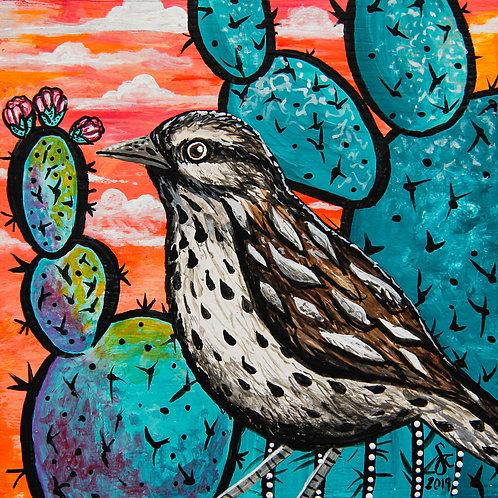 Cactus Wren - AZ State Series