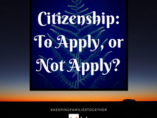 Citizenship: To Apply or Not Apply?