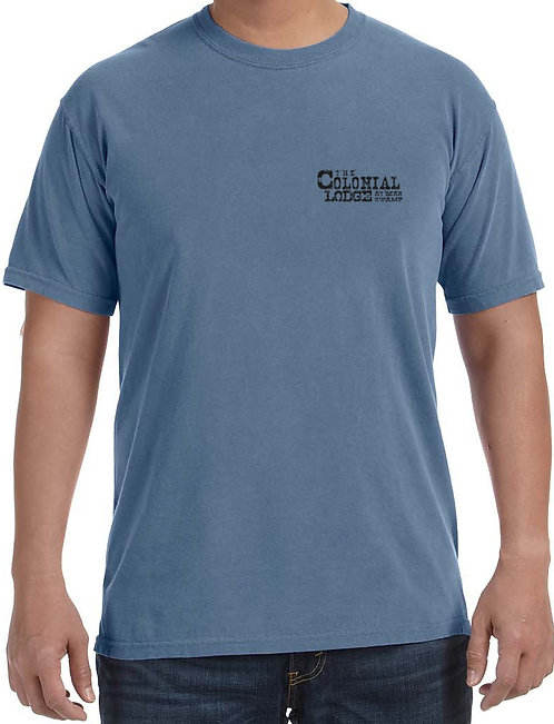 Colonial Lodge Comfort Color Tee 1717