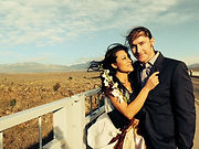 Taos Gorge Bridge wedding