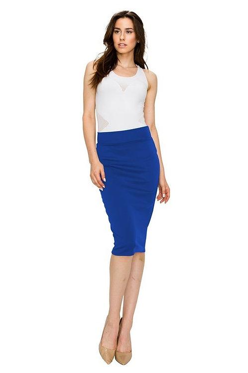 Midi Slim Fit Pencil Skirt