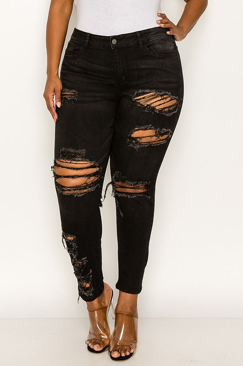 The Cut Up Jeans
