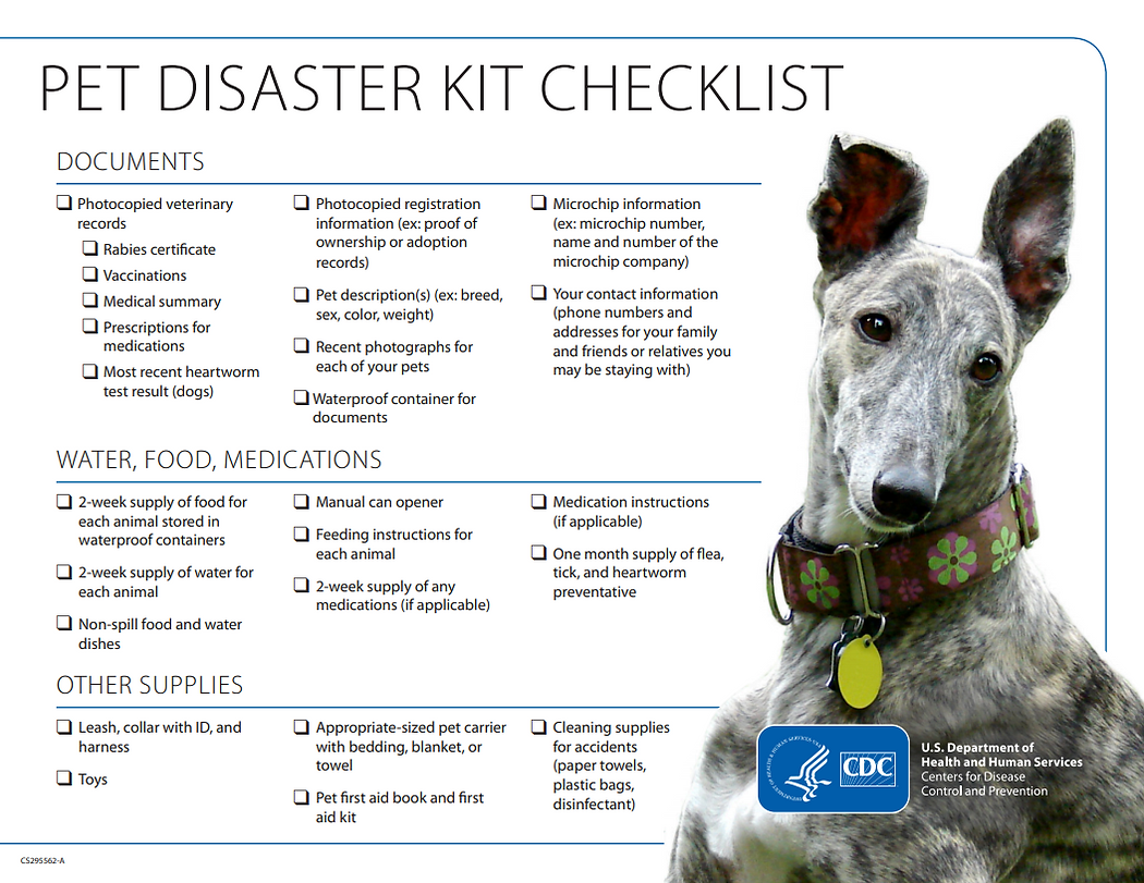CDC Emergency Checklist Dogs.PNG