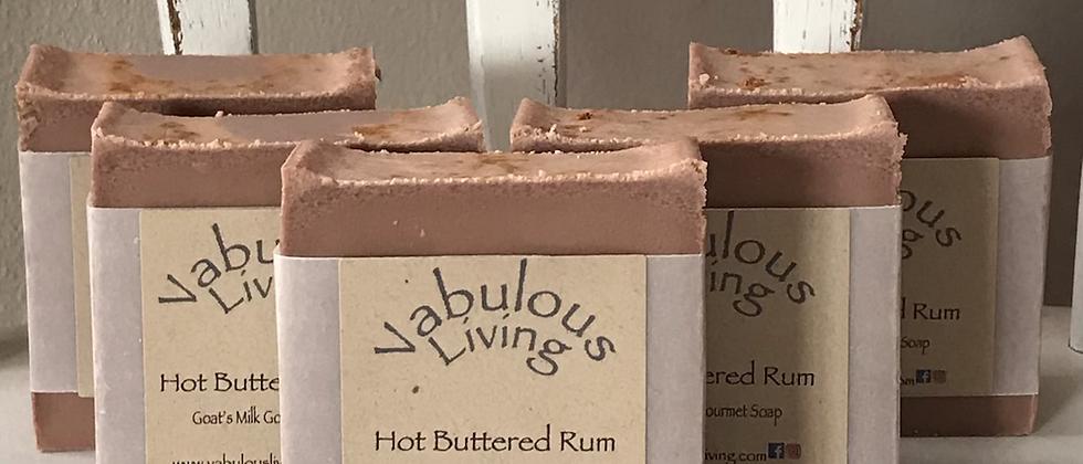 Hot Buttered Rum Goats Milk Soap