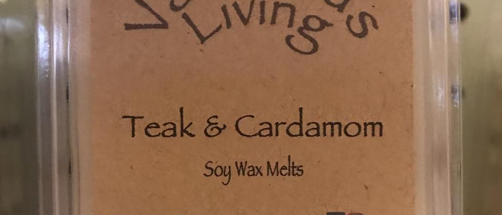 Teak & Cardamom Wax Melt
