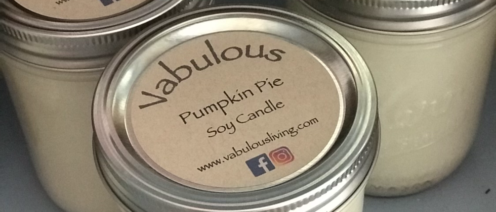 Pumpkin Pie Soy Wax Candle