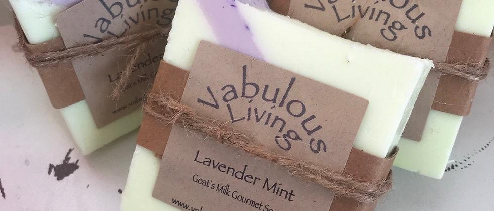 Lavender Mint Goat's Milk Soap