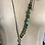 Thumbnail: Jade, Glass Beads & White Leather