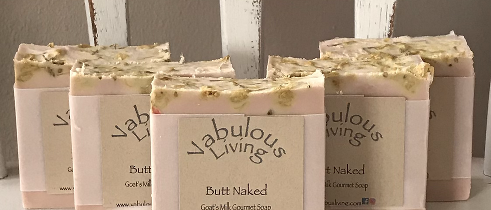 Butt Naked Goats Milk Soap