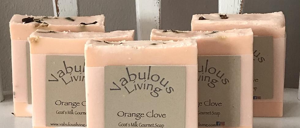 Orange Clove Goats Milk Soap