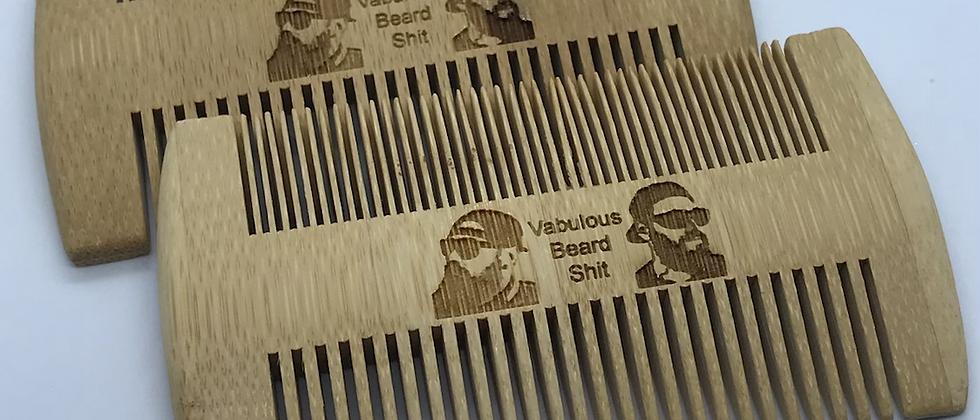 Bamboo Bear Comb