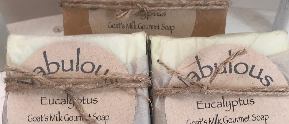 Eucalyptus Gourmet Goat's Milk Soap