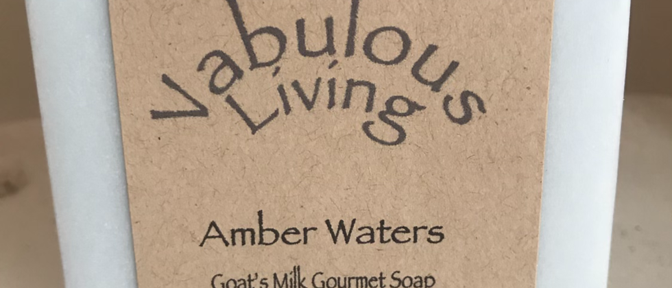 Amber Waters Goats Milk Soap