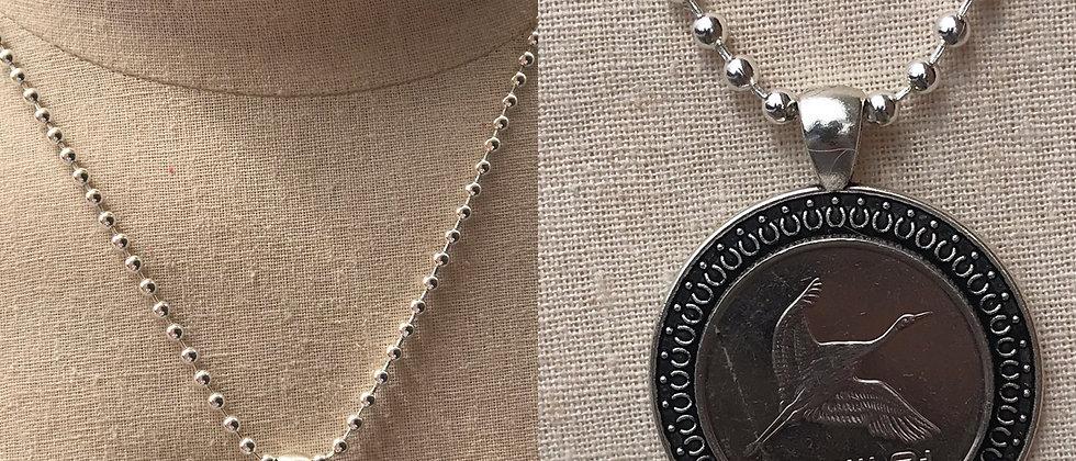 500 Korean Won necklace