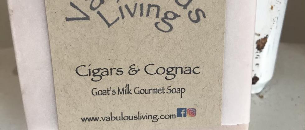 Cigars & Cognac Goats Milk Soap