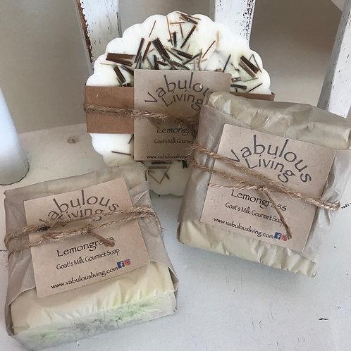 Lemongrass Gourmet Goat's Milk Soap