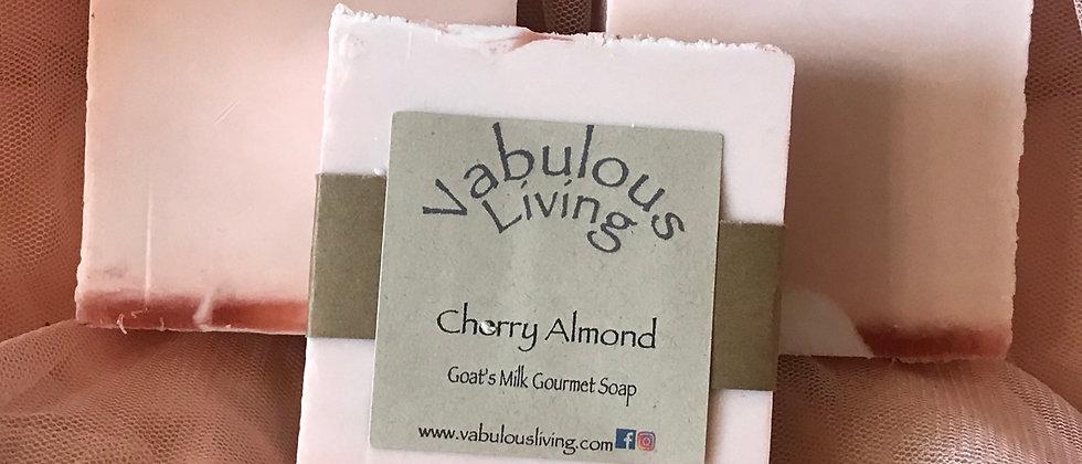 Cherry Almond Gourmet Goat's Milk Soap