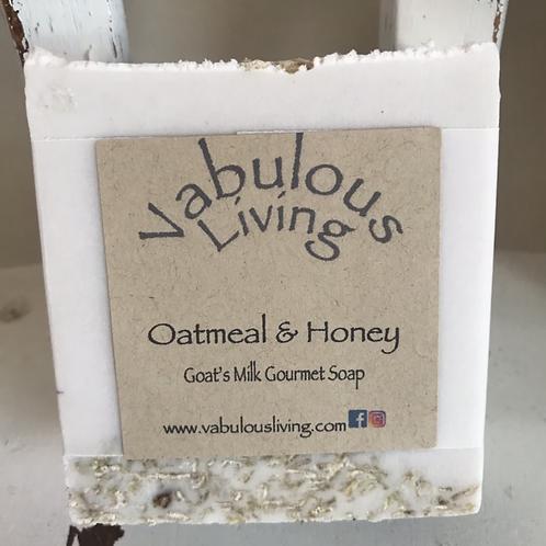 Oatmeal & Honey Goats Milk Soap