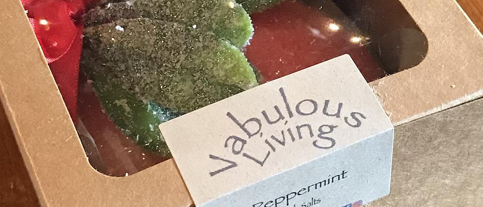 Peppermint Bath Salts Ornament