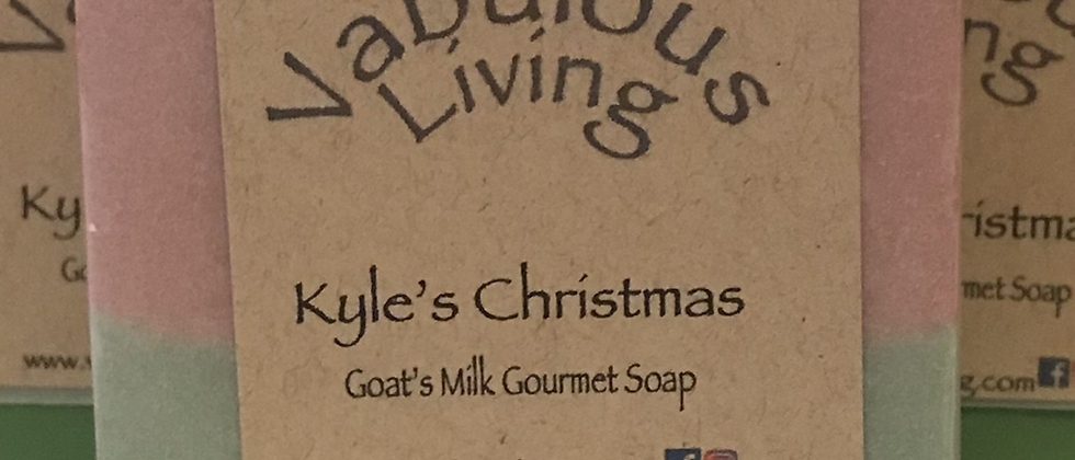 Kyle's Christmas Goats Milk Soap