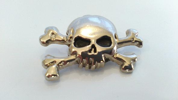 Skull & Crossbones Concho