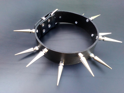 Spaced 45mm Spiked Choker