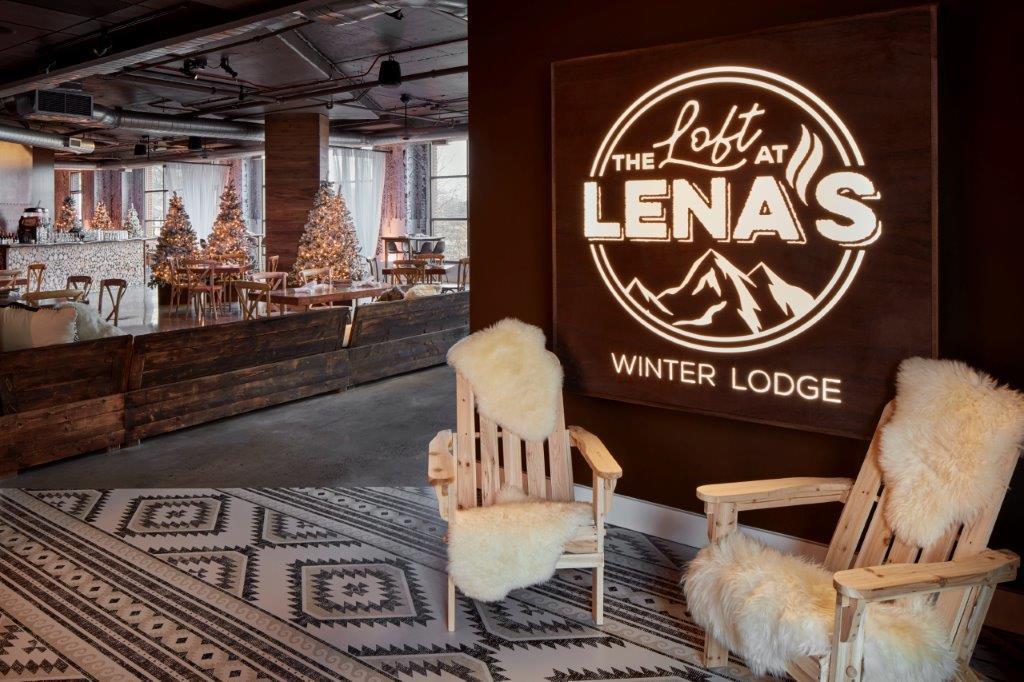 The Loft at Lena's - Winter Lodge Interior