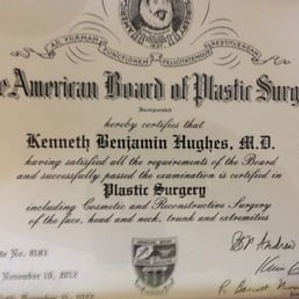 Dr. Kenneth Benjamin Hughes ABPLS Board Certification Diploma