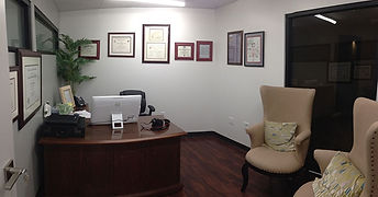 Inside Hughes Plastic Surgery and Dr. Hughes's office
