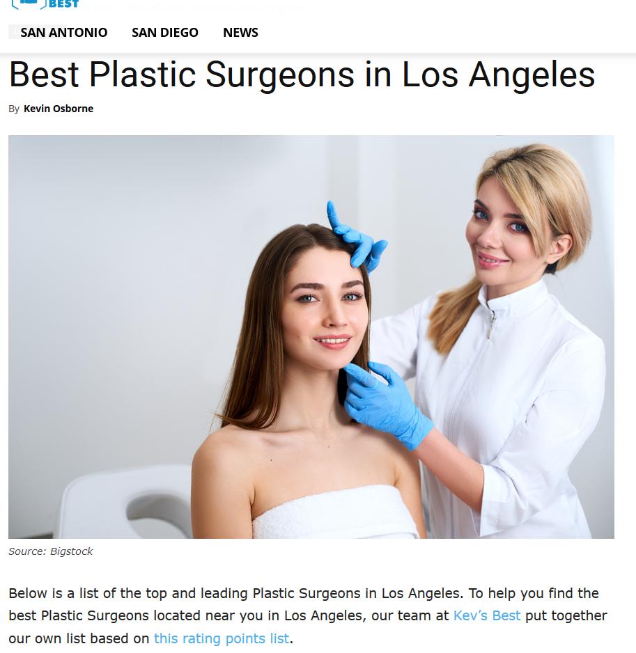 Dr. Kenneth Benjamin Hughes, Best Plastic Surgeon