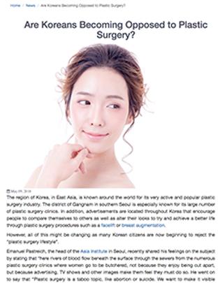 Dr. Kenneth Hughes Expert Korean Plastic Surgery