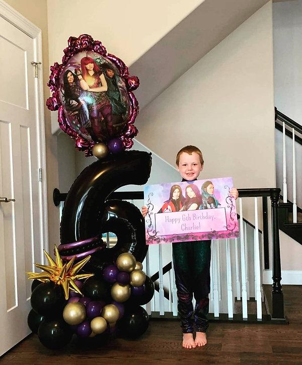 Indoor balloon display