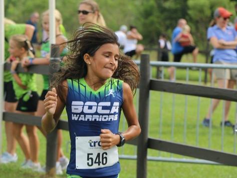 A Powerful Start to the Boca Warrior 2021 Cross Country Season
