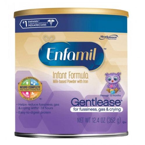 Enfamil Gentlease Infant Formula Powder (12 Oz).