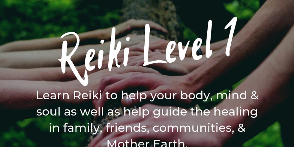Reiki Level 1 Workshop