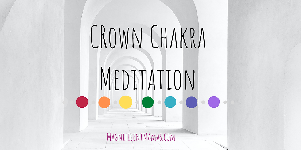 Crown Chakra Healing Meditation