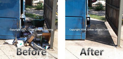 Before and After - Dumpster Area 002