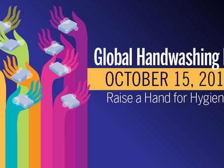 Global Handwashing Day is October 15th