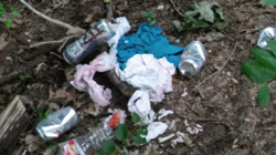 UUC Turtle Creek Cleanup Litter 006