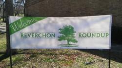 Reverchon Roundup Sign