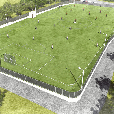 In September of 2018, we completed the Murphy Family Field (MFF) thanks to a gift from a generous benefactor. The MFF is a fully lighted multi-purpose playing field that will provide our athletes and families with a crucial green space within the community. The field is also part of our commitment to create alternatives to forced migration by making Guarjila a better and safer place to live.